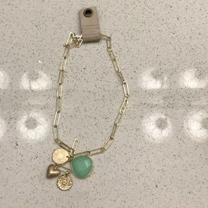 Anthropologie charm necklace